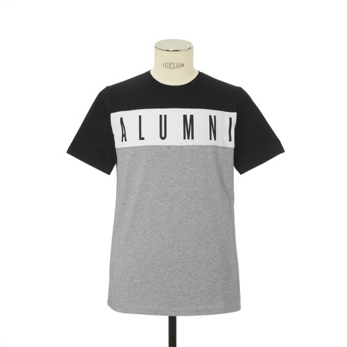 Alumni black white and gray tshirt