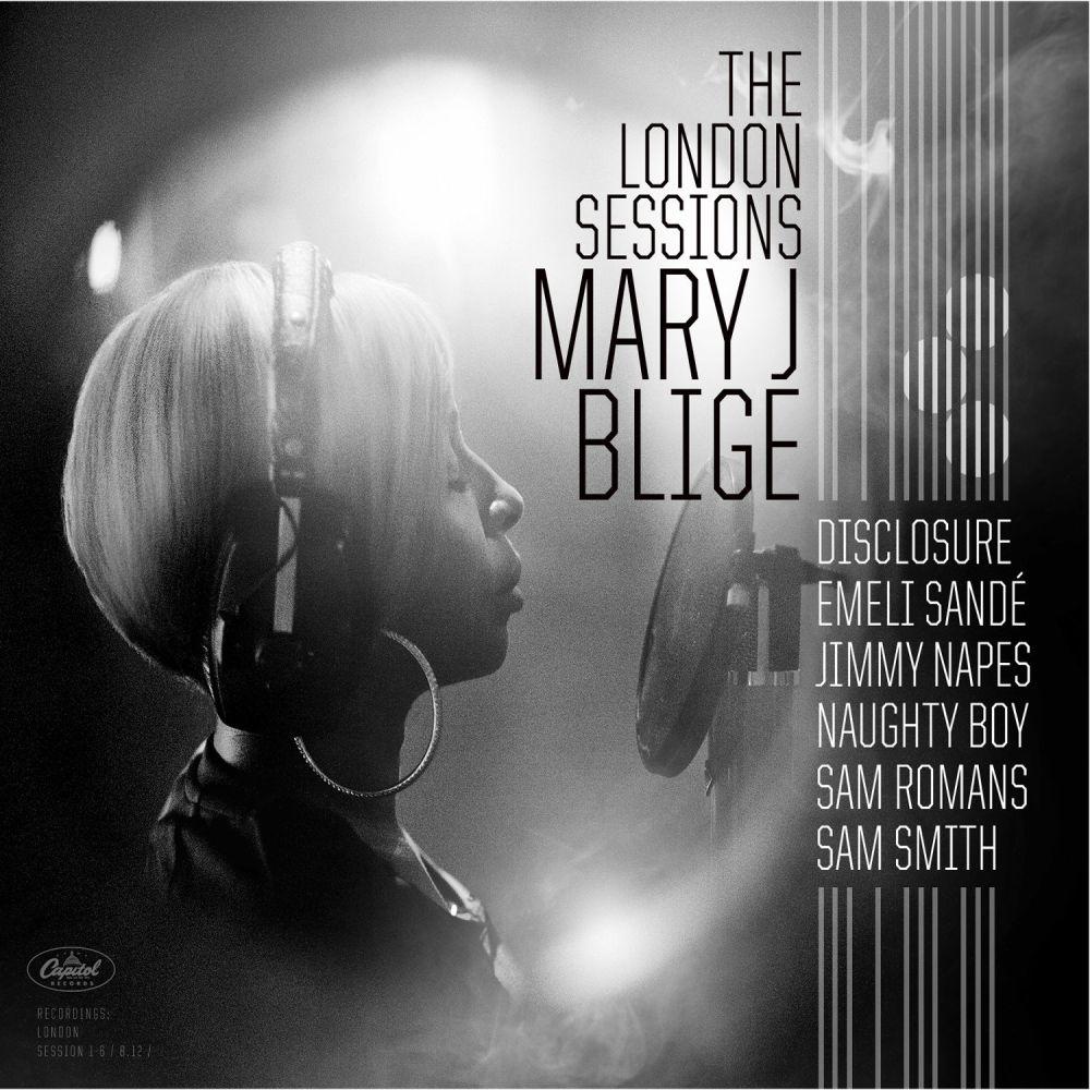mary j blige the london sessions album cover art