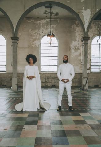 solange knowles wedding by Rog Walker