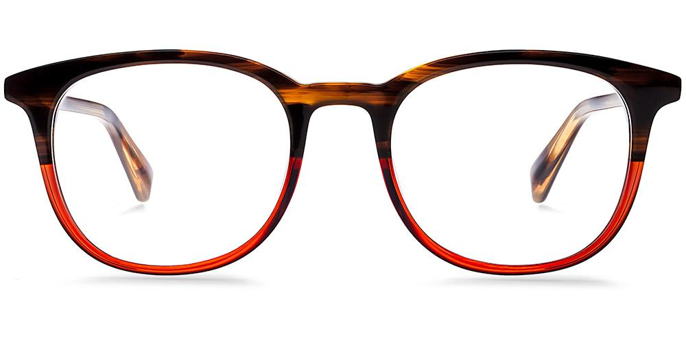 Warby Parker - Durand in Saddle Russet Eyeglasses