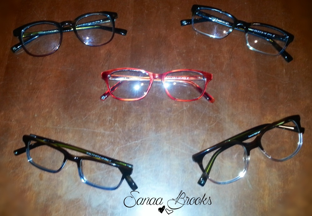 warby parker glasses ordered by Sanaa Brooks