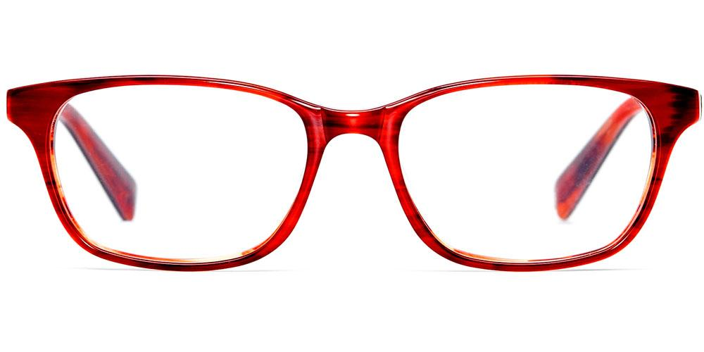 Warby Parker - Marshall in Rum Cherry Eyeglasses