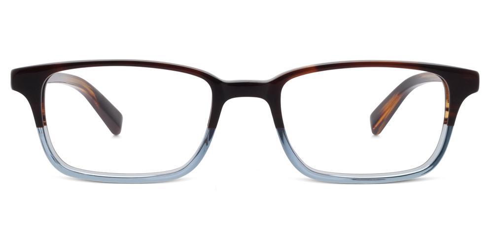 Warby Parker - Wilkie in Eastern Bluebird Fade Eyeglasses