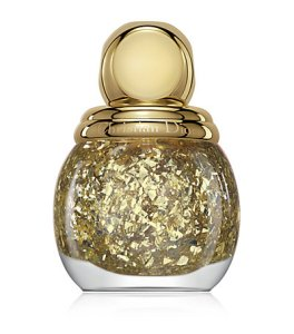 Christian Dior Golden Shock Gold Leaf Effect Topcoat