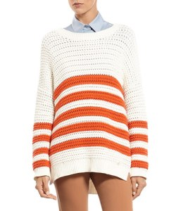 gucci striped knit cotton sweater