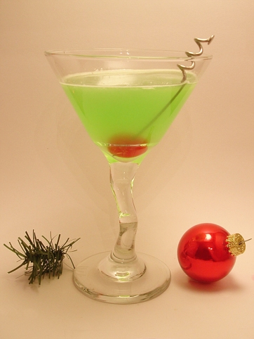 the grinch cocktail drink