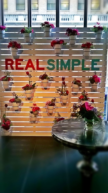 Backdrop at Real Simple Magazine's Beauty and Balance Event