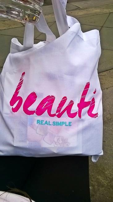Real Simple Magazine's swag bag