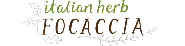 Italian Herbs Focaccia From Graze Box