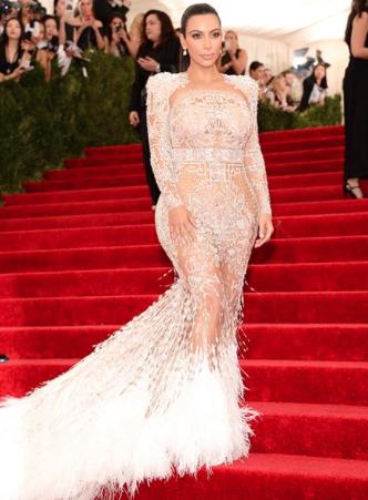 Kim Kardashian West at the Met Gala