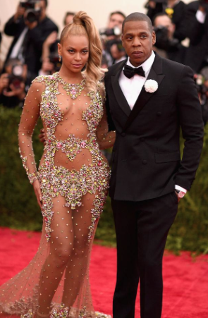 Beyonce and Jay Z at the Met Gala