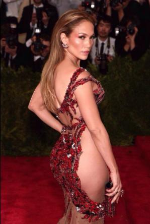 J Lo at the Met Gala