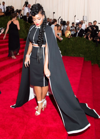 Janelle Monae at the Met Galla in H&M