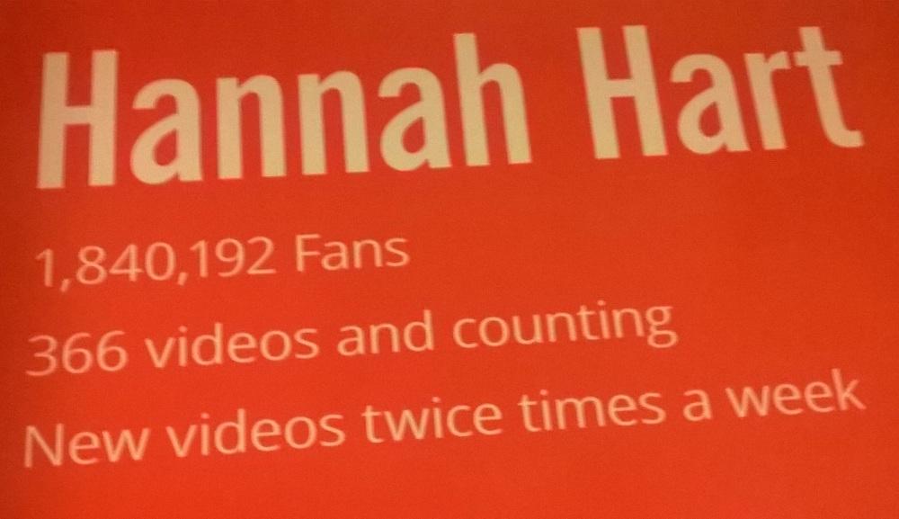 Hannah Hart Youtube Ad