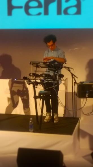 L'Oreal Paris Fashion Show & Concert Event -Astr performance drum machine performer