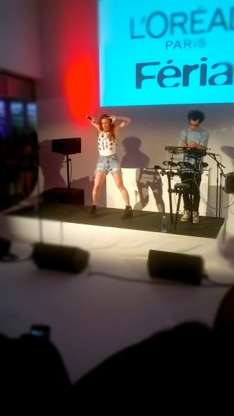 L'Oreal Paris Fashion Show & Concert Event -Astr performance