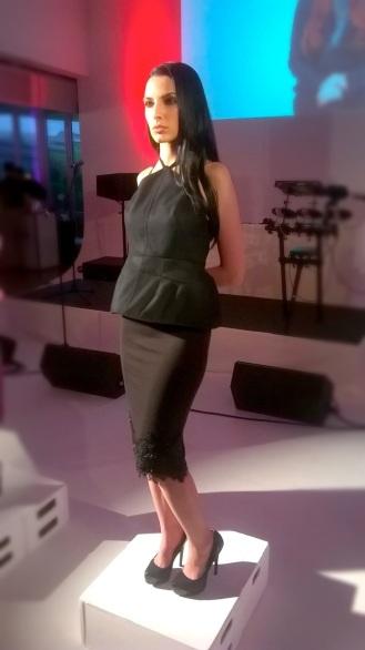 L'Oreal Paris Fashion Show & Concert Event -fashion show black dress