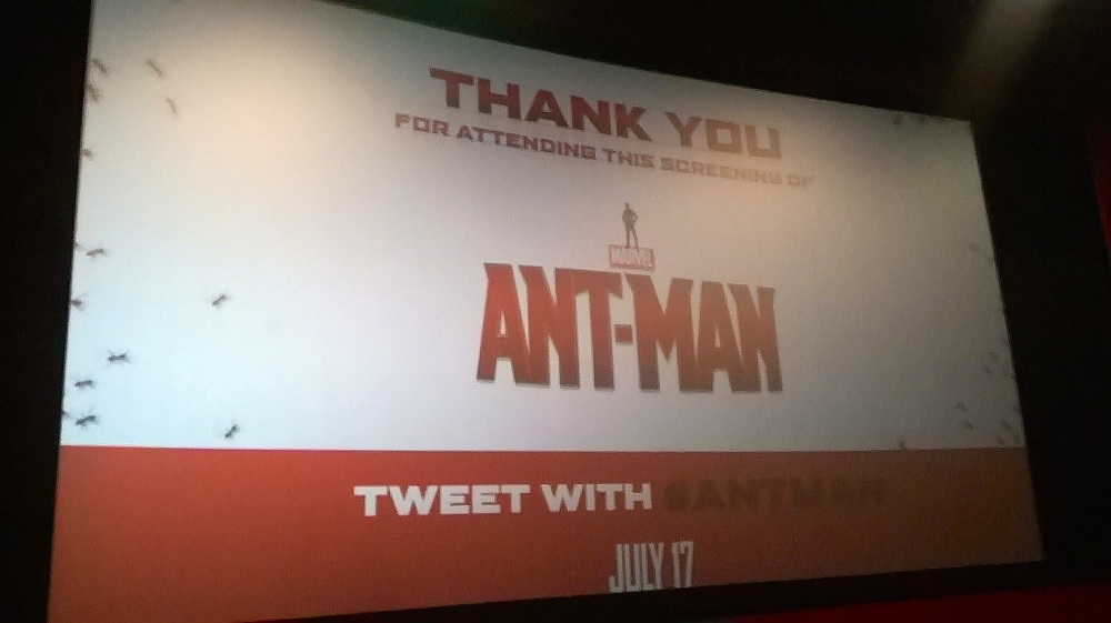 ant man screening in times square nyc