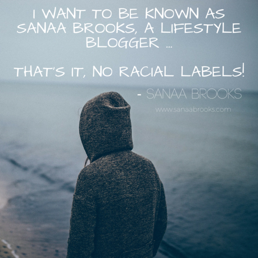 I Don't Want To Be Known As A Black Blogger - Sanaa Brooks