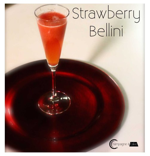 strawberry belini recipe