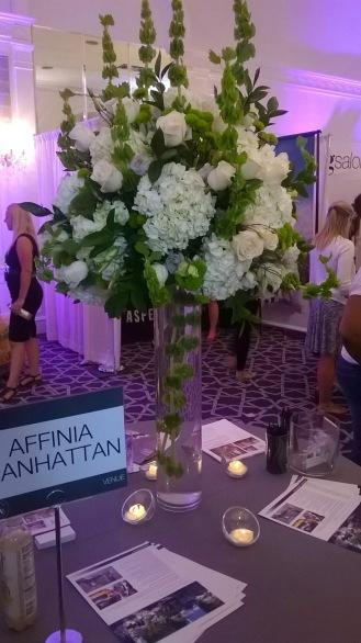 Affina Manhattan Venue at NYC's Wedding Salon 2015 at the Affina Hotel