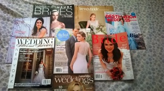 NYC's Wedding Salon 2015 at the Affina Hotel Magazines in gift bag
