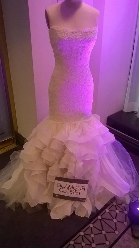 Glamour Closet Dress at NYC's Wedding Salon 2015 at the Affina Hotel
