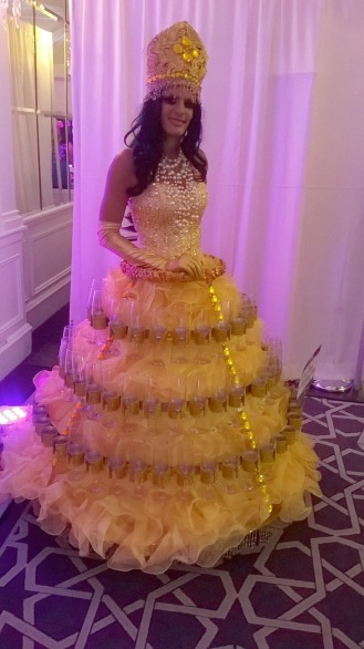 Moving Table Entertainment at NYC's Wedding Salon 2015 at the Affina Hotel