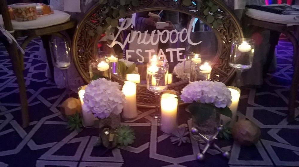 Linwood Estate at NYC's Wedding Salon 2015 at the Affina Hotel