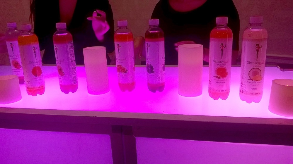 SkinnyGirl Sparklers at NYC's Wedding Salon 2015 at the Affina Hotel