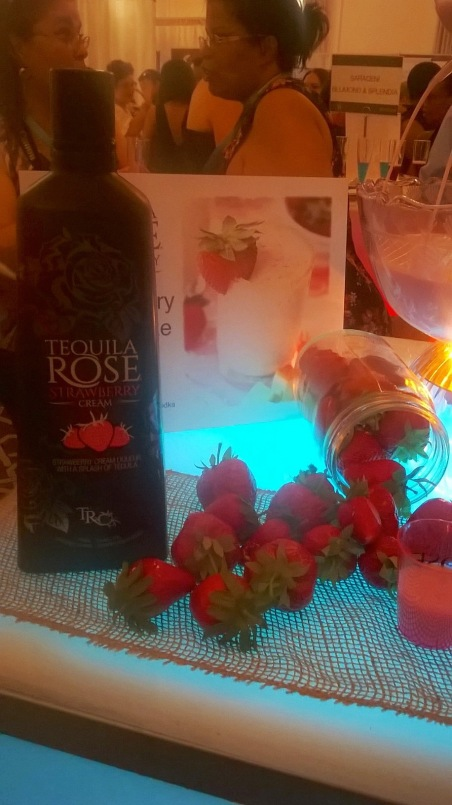 Tequilla Rose at NYC's Wedding Salon 2015 at the Affina Hotel