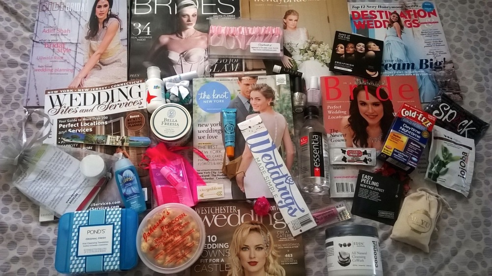 NYC's Wedding Salon 2015 at the Affina Hotel Gift Bag Items